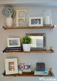 Ikea Shelves Turned Rustic In A Few Simple Steps