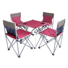 Portable Folding Beach Table And Chair Five Sets Burgundy ... Gocamp Xiaomi Youpin Bbq 120kg Portable Folding Table Alinium Alloy Pnic Barbecue Ultralight Durable Outdoor Desk For Camping Travel Chair Hunting Blind Deluxe 4 Leg Stool Buy Homepro With Four Wonderful Small Fold Away And Chairs Patio Details About Foldable Party Backyard Lunch Cheap Find Deals On Line At Tables Fniture Lazada Promo 2 Package Cassamia Klang Valley Area Banquet Study Bpacking Gear Lweight Heavy Duty Camouflage For Fishing Hiking Mountaeering And Suit Sworld Kee Slacker Campfishtravelhikinggardenbeach600d Oxford Cloth With Carry Bcamouflage