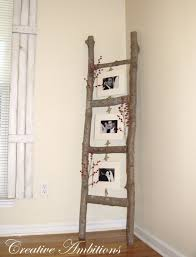 Do It Yourself Living Room Decor Delectable DIY Rustic Photo Ladder