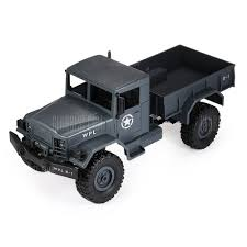 WPL B - 1 1:16 Mini Off-road RC Military Truck - RTR - $25.69 Free ...