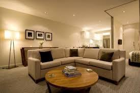 Apartment Living Room Decor With Carpet