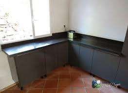 recouvrir carrelage plan de travail cuisine recouvrir plan de travail carrel top awesome plan travail beton