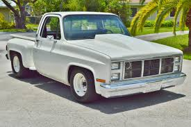 """1987 GMC Sierra 1500 Chevrolet """"SHORT & WIDE"""" Step Side 