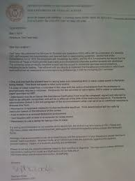 Letter Of Reference For Accommodation