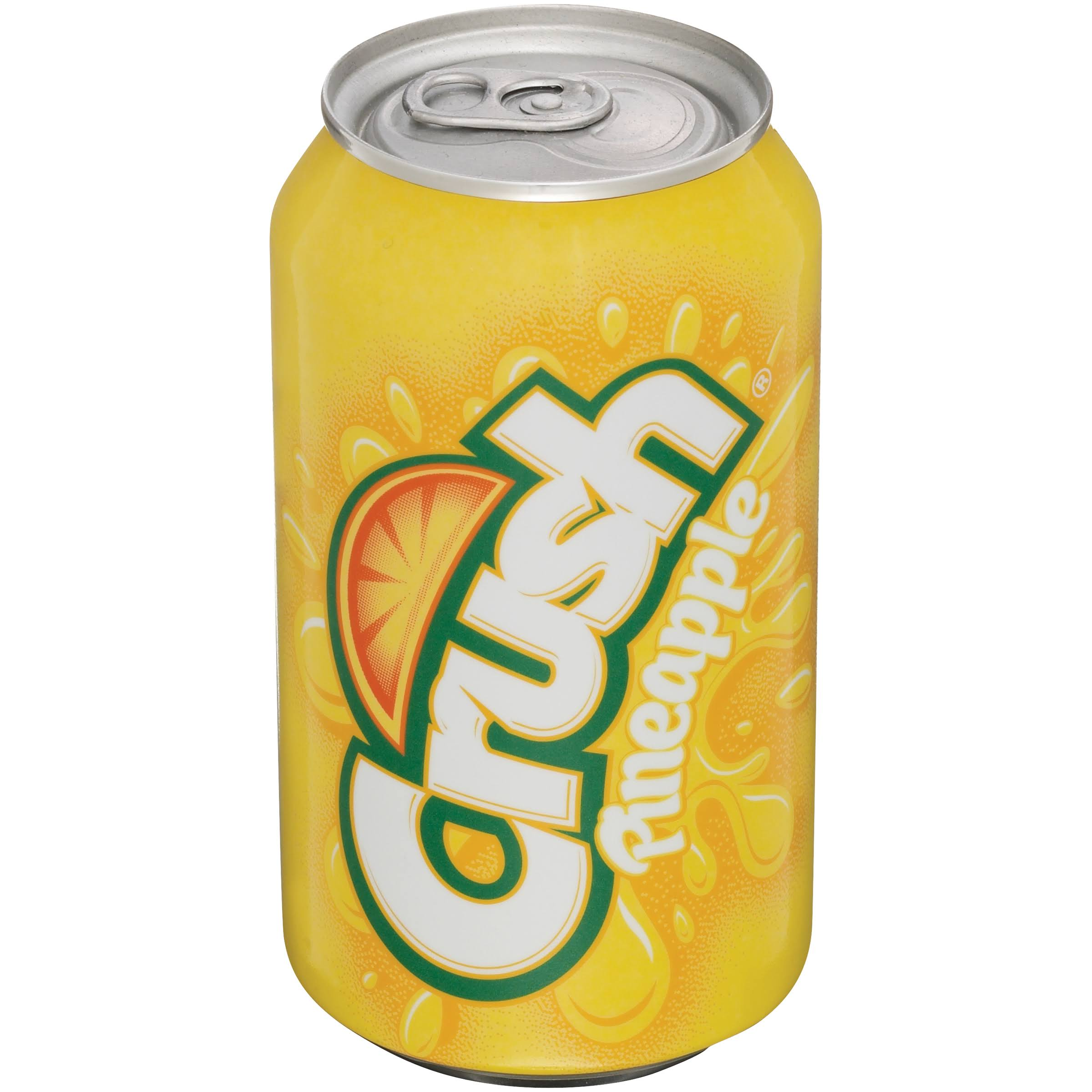 Crush Pineapple Soda - 12oz