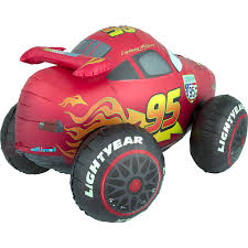 Giant Gliding Lightning McQueen Balloon - Cars 3 | Party City