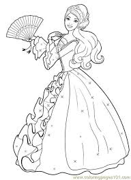 Barbie Coloring Pages 1500 Free Paper Dolls Arielle Gabriels The International Doll Society