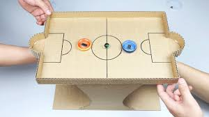 How To Make Marble Desktop Game From Cardboard