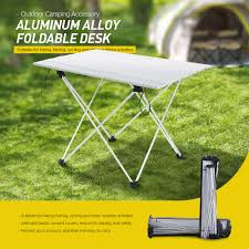 Cut Rate Aluminum Alloy Table Foldable Desk Outdoor Camping Stable ... Amazoncom Yunhigh Mini Portable Folding Stool Alinum Fishing Outdoor Chair Pnic Bbq Alinium Seat Outad Heavy Duty Camp Holds 330lbs A Fh Camping Leisure Tables Studio Directors World Chairs Lweight Au Dropshipping For Chanodug Oxford Cloth Bpack With Cup And Rod Holder Adults Outside For Two Side Table