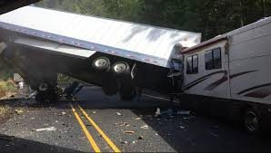 Semi Truck Loses Control After Sharp Turn. Ends Up In Unbelievable ... 2008 Custom Diesel Peterbilt Rv For Sale Youtube Truck Wash In California Best Outwest Car We Want The Dirt On You Semi Sleeper Bed Beds 33 Lb Memory Foam Mattress Topper 78 Gallery White Tesla Roadster And At 2018 Rvcargo Trailers Image Result For Semi Truck Rv Motor Home Pinterest Smart Volvo Dealer Rv Hauler Hdt S Allied Struckin Biggest Rigs Open Roads Forum Fifth Wheels Thking Of A 53 Nomads Our Toter Semitruck Camper Campinstyle Camper