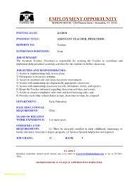 Resume Samples For Pre K Teachers At Sample Ideas