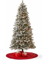 Hayneedle Flocked Christmas Trees by Winter Savings Are Here 50 Off North Pole Trading Co 7 Foot