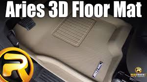Aries Floor Mats Honda Fit by Aries 3d Floor Mat Fast Facts Youtube