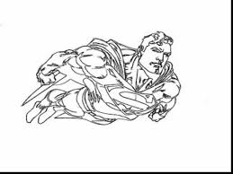 Marvelous Superman Printable Coloring Pages With Page And Pdf
