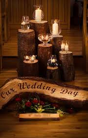 Wedding Hire Omagh Rustic Weddings IrelandQuirkyHandmade Logs