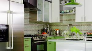 Tile Backsplash Ideas With White Cabinets by Backsplashes For Small Kitchens Pictures U0026 Ideas From Hgtv Hgtv
