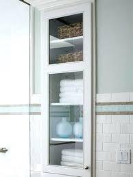 Built In Wall Shelves Cabinet Between Studs Bathroom Kitchen