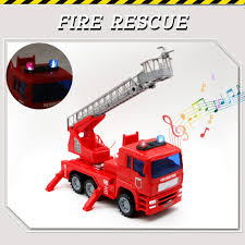 100 Fire Truck Sirens 50 Discount On Yoptote Engine Toy Shoot Water With