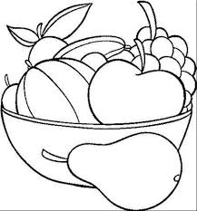 Ideas Of Fruits Vegetables Coloring Book Also Free