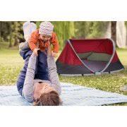 kidco peapod plus portable travel bed cranberry walmart com