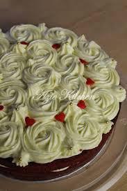 kek velvet istimewa dari juita azie kitchen