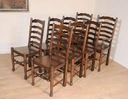 Ladderback chairs farmhouse kitchen furniture