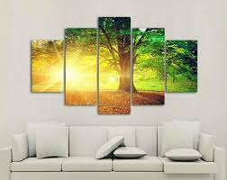 Tree Wall Decor Ideas by Creative Wall Art Ideas For Living Room Decoration Home Interiors