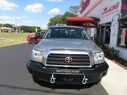 100 Iron Cross Truck Bumpers 2013 Silver Toyota Tundra Bumper TopperKING
