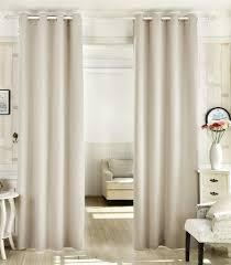woltu vorhänge aus 100 polyester blickdicht mit ösen 1 stück creme 135x225 cm