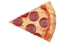 Slice of a Pepperoni Pizza