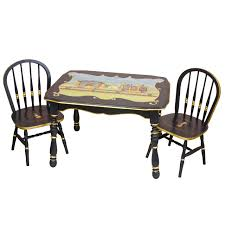 Circus Play Table And Chairs Set