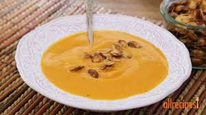 Dry Roasted Shelled Pumpkin Seeds by Spiced Pumpkin Seeds Recipe Allrecipes Com