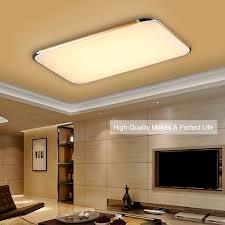 48w flush mount led pendant light ceiling l bedroom gold