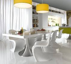 Contemporary Dining Room Sets Ideas Of Upholstered Side Chair Set 2 High Class Glass