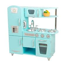 cuisine kidkraft vintage kidkraft vintage kitchen in blue cooking baking kits amazon canada