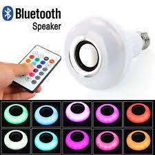 genuine sony bluetooth 500lm led light bulb speaker lspx 103e26 ebay