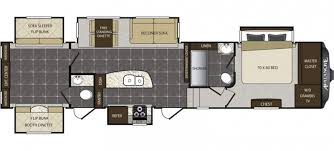 12 Must See Bunkhouse RV Floorplans Welcome To The General