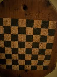 Olde Checkerboard Game BoardsBoard