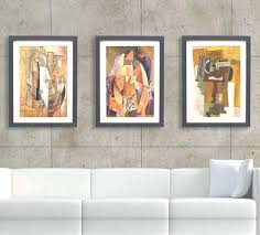 Picture Frame Wall Art Ideas Best Framed Natural Pictures For Living Room Inside