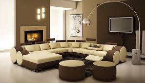Decorating With Brown Couches by Interior Design Fancy Family Room Decorating Ideas With Designs