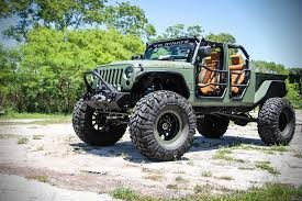 Jeep JK Crew Bruiser On 44's, With A Truck Bed And Four Doors!