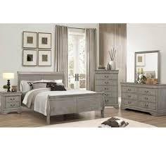 Gray Queen Size Bedroom Set