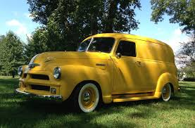 1952 Chevrolet Panel Truck Streetrod With A 1954 Chevy Grill. Name ...