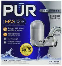 Pur Faucet Adapter Leaking by Euc Pur Maxion Advanced Stainless Steel Style Faucet Water Filter