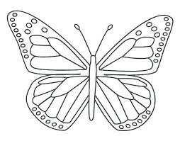Free Butterfly Coloring Pages Fairy Excellent Kids Printable