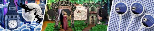 Scene Setters Halloween by Neverland Peter Pan Party Peter Pan Party Supplies Shindigz