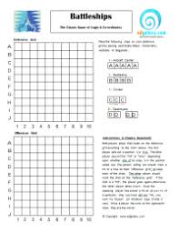 CLASSIC PRINTABLE BATTLESHIP GAME FOR STUDENTS Edgalaxy Cool