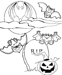 Halloween Bats And Vampire Coloring Printables For Kids
