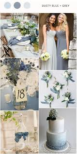 Top 7 Dusty Blue Wedding Color bos for 2018
