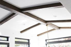 100 Beams In Ceiling DIY Faux Wood Stagg Design